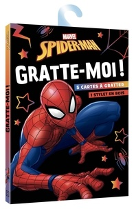 Marvel - Spider-Man - Avec 5 cartes à gratter et 1 stylet en bois.