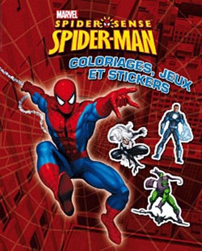 Marvel - Spider-Sense Spider-Man - Coloriages, jeux et stickers.