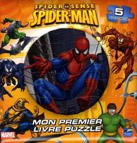 Marvel - Spider-Sense Spider-Man - Mon premier livre puzzle.