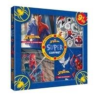Ebook magazines télécharger Super coffret Spider-man  - Avec une histoire, des stickers, un puzzle, des coloriages par Marvel PDB 9782017046066