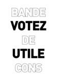 Marwanny corporation - Votez utile bande de cons.