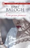 Mary Balogh - Le club des survivants Tome 5 : Rien qu'une promesse.