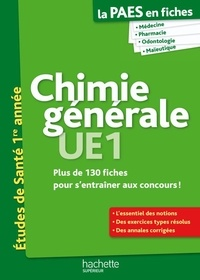 Chimie générale, UE1, Etudes de Santé 1re année.pdf