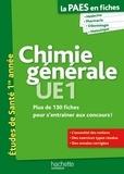 Guillaume Vincenot et Mary-Lorène Goddard - La PAES en fiches, Chimie générale.