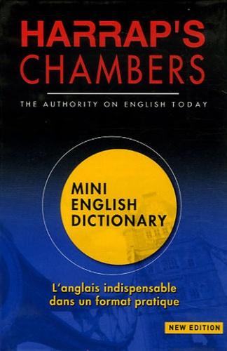 Mary O'neill et Howard Sargeant - Mini English Dictionary.