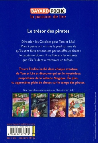 La cabane magique Tome 4 Le trésor des pirates