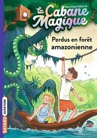 Mary Pope Osborne et Philippe Masson - La Cabane Magique Tome 5 : Perdus en forêt amazonienne.