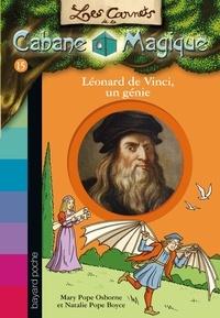 Mary Pope Osborne et Natalie Pope Boyce - Les carnets de la cabane magique Tome 15 : Léonard de Vinci, un génie.