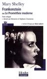 Mary Shelley - Frankenstein - Ou Le Prométhée moderne.