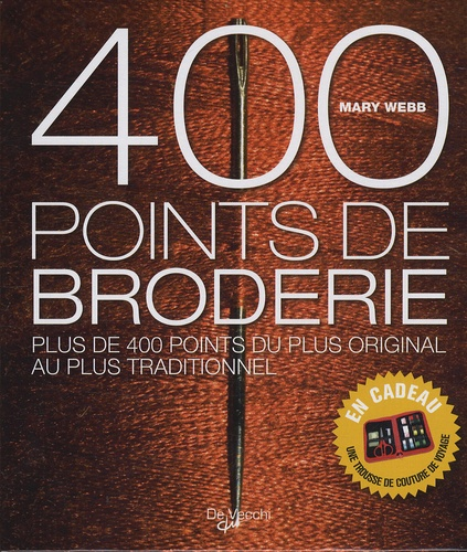 Mary Webb - 400 points de broderie.