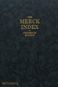Maryadele O'Neil - The Merck Index - An Encyclopedia of Chemicals, Drugs, and Biologicals.