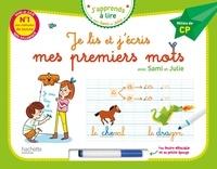Marygribouille et Anne Jan - Je lis et j'écris mes premiers mots avec Sami et Julie - Milieu de CP, avec un feutre effaçable et une petite éponge.