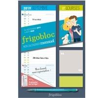 Marygribouille et  Ultraviolette - Mini Frigobloc mensuel - Le calendrier maxi-aimanté pour se simplifer la vie !.