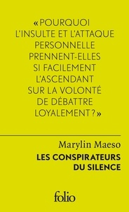 Marylin Maeso - Les conspirateurs du silence.