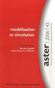 Maryline Coquidé et Jean-François Le Maréchal - Modélisation et simulation.
