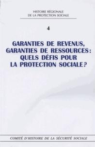 Maryse Badel - Garanties de revenus, garanties de ressources : quels défis pour la protection sociale ?.