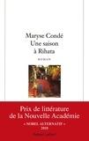 Maryse Condé - Une Saison à Rihata.