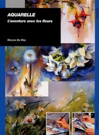 Maryse De May - Aquarelle - L'aventure avec les fleurs.