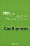 Maryse Deguergue et Laurent Fonbaustier - Confluences - Mélanges en l'honneur de Jacqueline Morand-Deviller.