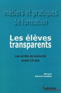 Les élèves transparents - Les arrêts de scolarité avant 16 ans.pdf
