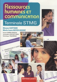Maryse Guittard - Ressources humaines et communication Tle STMG.