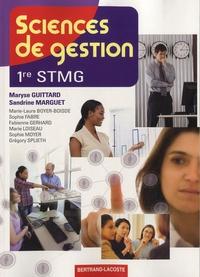 Maryse Guittard et Sandrine Marguet - Sciences de gestion 1e STMG.