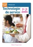 Maryse Hegedus et Pascal Labrousse - Technologie de service CAP Restaurant 1re - 2e années.