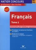 Maryvonne Dhers et Philippe Dorange - Français PE1-PE2 - Tome 2.
