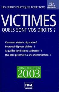 Histoiresdenlire.be Victimes. Quels sont vos droits ? Edition 2003 Image