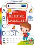 Marzia Giordano - Les lettres majuscules - Cahier d'écriture - Avec un feutre effaçable.