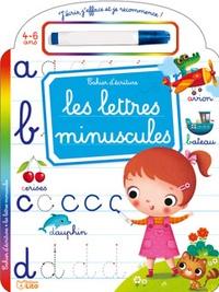 Marzia Giordano - Les lettres minuscules - Cahier d'écriture - Avec un feutre effaçable.