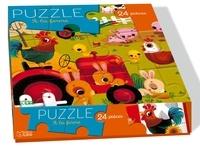 Marzia Giordano - Puzzle à la ferme - 24 pièces.
