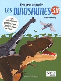 Masanori Kamiya - Crée avec du papier les dinosaures 3D.