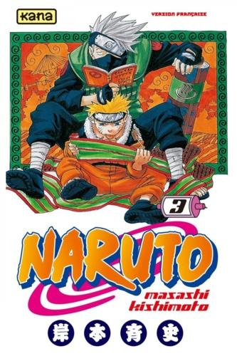 Masashi Kishimoto - Naruto Tome 3 : .