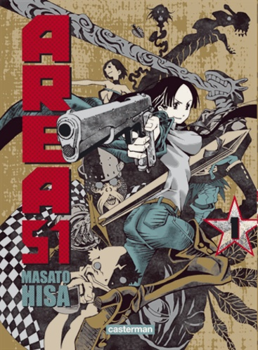 Masato Hisa - Area 51 Tome 1 : .