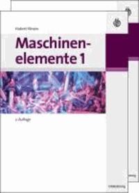 Maschinenelemente Band 1 und 2.