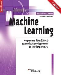 Massih-Reza Amini - Machine Learning - Programmes libres (GPLv3) essentiels au développement de solutions big data.