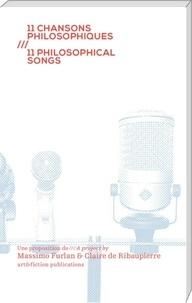 Massimo Furlan - 11 chansons philosophiques.