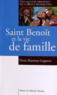 Saint Benoît et la vie de famille - Une lecture originale de la Règle bénédictine.pdf