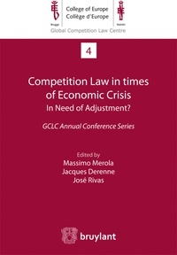 Checkpointfrance.fr Competition Law in times of Economic Crisis: in Need of Adjustment? - GCLC Annual Conference Series Image