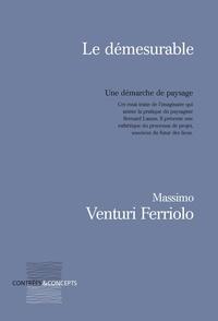 Massimo Venturi Ferriolo - Le démesurable - Une démarche de paysage.