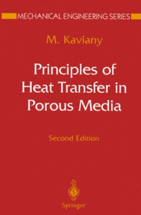 Histoiresdenlire.be PRINCIPLES OF HEAT TRANSFER IN POROUS MEDIA. - 2nd edition Image