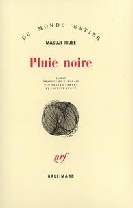 Masuji Ibuse - Pluie noire.