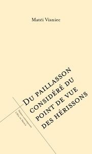 Histoiresdenlire.be DU PAILLASSON CONSIDÉRÉ DU POINT DE VUE DES HÉRISSONS Image