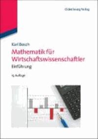 Mathematik für Wirtschaftswissenschaftler - Einführung.