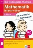 Mathematik intensiv üben 4. Schuljahr - Die wichtigsten Themen.