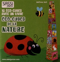 Deedr.fr Eco-cubes de la nature - 10 éco-cubes avec un livre Image