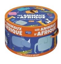 Mathew Neil - Les animaux d'Afrique - Avec un puzzle géant de 30 pièces.