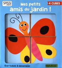 Mathew Neil - Mes petits amis du jardin ! - 4 éco-cubes à assembler + un livre.