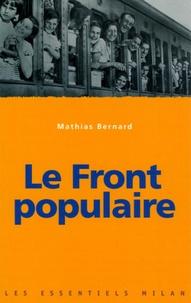 Mathias Bernard - Le Front populaire.